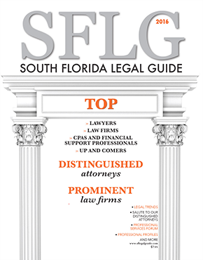 South Florida Legal Guide Month Issue